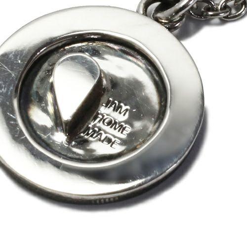 【JAM HOME MADE(ジャムホームメイド)】ラブモッズネックレス M メンズ ペア シルバー チェーン シンプル コイン モチーフ 人気 ブランド おすすめ プレゼント 誕生日 クリスマス