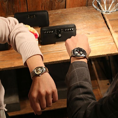 """シークレットミッキー""""MICKEY""""ウォッチ TYPE-1 -SILVER×MONO- / 腕時計"""