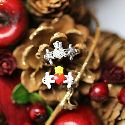"""指輪 / ミッキー """"MICKEY"""" クラダリング -FCC- メンズ レディース 人気 おすすめ ブランド ペア ディズニー コラボ クリスマス ギフト 記念日"""