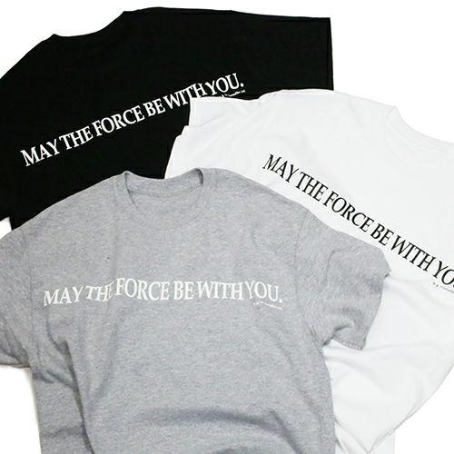 """【JAM HOME MADE(ジャムホームメイド)】スターウォーズ """"STAR WARS™"""" メッセージTシャツ TYPE-1 -BLACK-"""