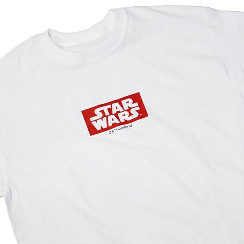 """【JAM HOME MADE(ジャムホームメイド)】スターウォーズ """"STAR WARS™"""" ロゴタイプTシャツ -WHITE-"""