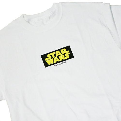 """【JAM HOME MADE(ジャムホームメイド)】オンラインショップ限定 スターウォーズ """"STAR WARS™"""" ロゴタイプTシャツ -Yellow-"""