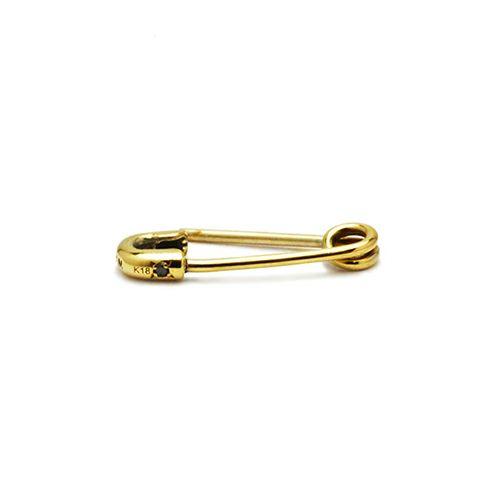 ピアス / セーフティピンダイヤモンドピアス XS -K18YG- メンズ レディース ゴールド 安全ピン 片耳 シンプル 人気 おすすめ ブランド プレゼント 誕生日 ギフト 18金