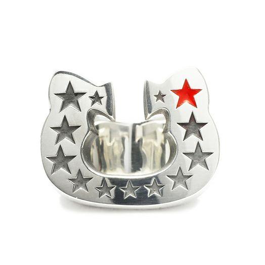 【JAM HOME MADE(ジャムホームメイド)】ハローキティ Hello Kitty コラボレーション ホースシューリング / 指輪 メンズ シルバー 925 人気 おすすめ ブランド ダラー コラボ