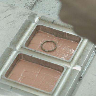 結婚指輪・マリッジリング ウエディングリング / 世界にひとつだけの指輪 PT900&K18YG