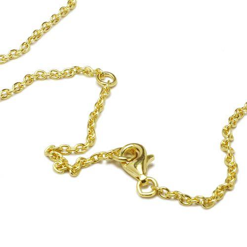ネックレス / ラウンドダイヤモンドネックレス TYPE2 -GOLD- メンズ レディース ペア シルバー ゴールド 人気 ブランド おすすめ ギフト プレゼント 誕生日 シンプル