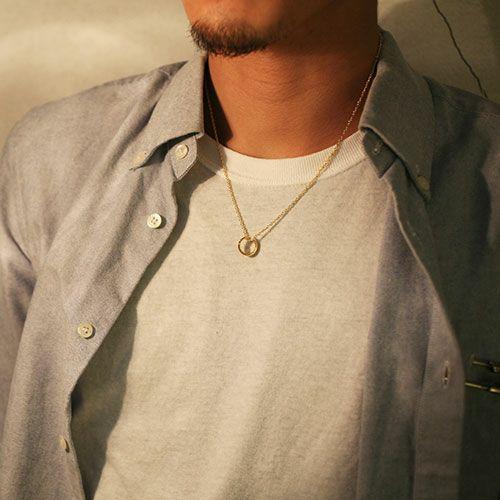 ラウンドダイヤモンドネックレス TYPE2 -GOLD-