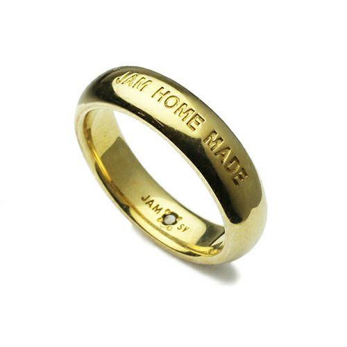 ラウンドダイヤモンドリング M -GOLD- / 指輪