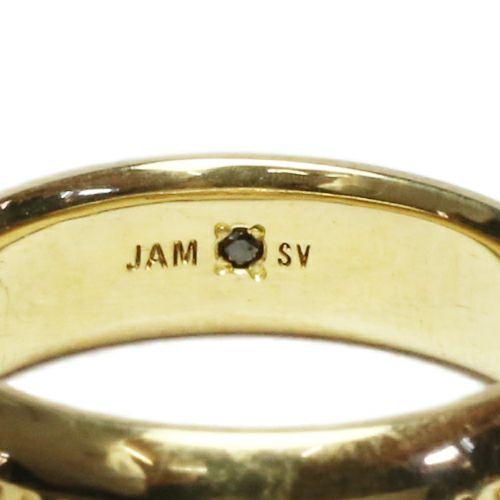 【ジャムホームメイド(JAMHOMEMADE)】ラウンド ダイヤモンド リング M - ゴールド / 指輪