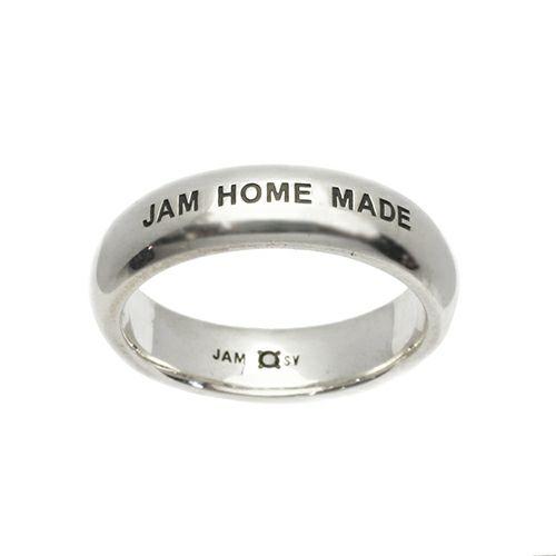 【ジャムホームメイド(JAMHOMEMADE)】ラウンド ダイヤモンド リング M - シルバー / 指輪