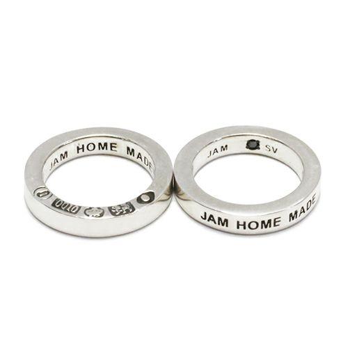 【JAM HOME MADE(ジャムホームメイド)】フラットダブルダイヤモンドネックレス -SILVER- メンズ レディース ペア シルバー ゴールド 人気 ブランド おすすめ ギフト プレゼント 誕生日 シンプル 2連