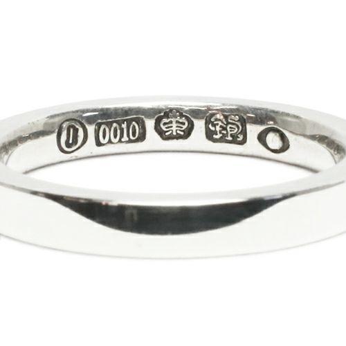指輪 / フラットダブルダイヤモンドリング M -SILVER- メンズ レディース シルバー ダイヤモンド 平打ち 2連 ペア 人気 おすすめ ブランド ギフト プレゼント クリスマス 記念日 誕生日
