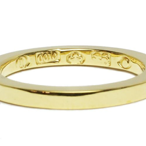指輪 / フラットダブルダイヤモンドリング S -GOLD- メンズ レディース シルバー ダイヤモンド 平打ち 2連 ペア 人気 おすすめ ブランド ギフト プレゼント クリスマス 記念日 誕生日