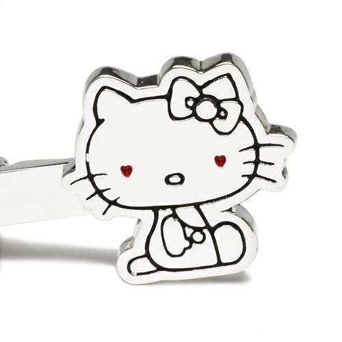 【JAM HOME MADE(ジャムホームメイド)】ハローキティ/Hello Kitty タイピン メンズ シルバー 人気 おすすめ ブランド スーツ ビジネス フォーマル サンリオ コラボ シンプル 結婚式 父の日 プレゼント ギフト