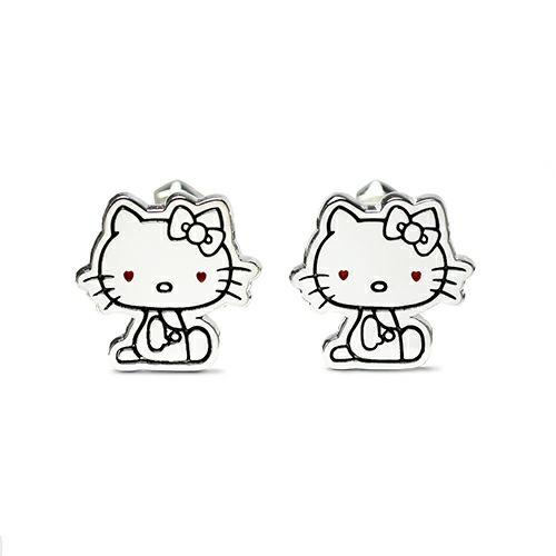 【JAM HOME MADE(ジャムホームメイド)】ハローキティ/Hello Kitty カフス メンズ シルバー 人気 おすすめ ブランド スーツ ビジネス フォーマル サンリオ コラボ シンプル 結婚式 父の日 プレゼント ギフト
