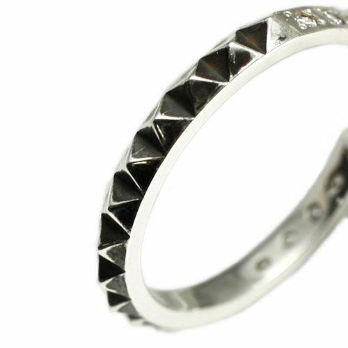 スタッズシングルリング M -SILVER- / 指輪