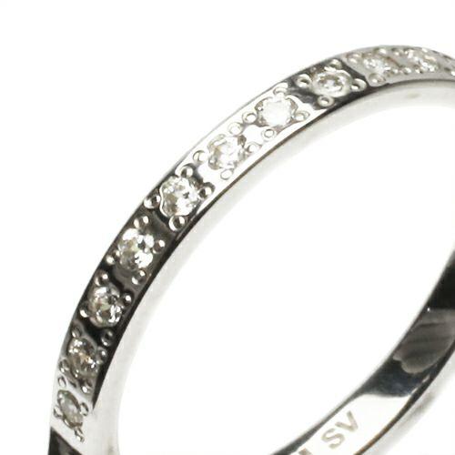 スタッズシングルリング S -SILVER- / 指輪