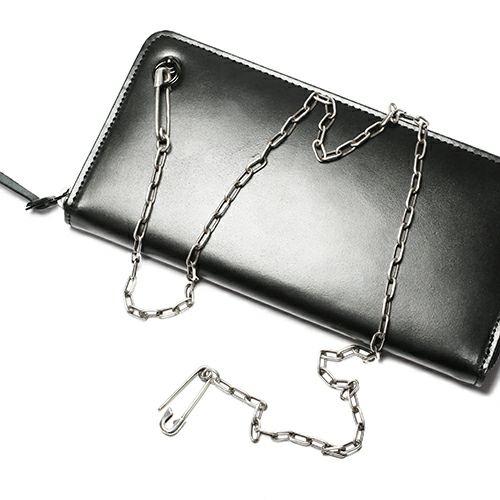 【JAM HOME MADE(ジャムホームメイド)】セーフティピンダイヤモンドウォレットチェーン M -SILVER- メンズ シルバー 人気 おすすめ ブランド 財布 チェーン シンプル