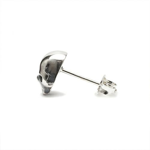 【JAM HOME MADE(ジャムホームメイド)】レボリューションスカルピアス -SILVER- メンズ シルバー 片耳 シンプル 人気 おすすめ ブランド プレゼント 誕生日 ギフト ドクロ