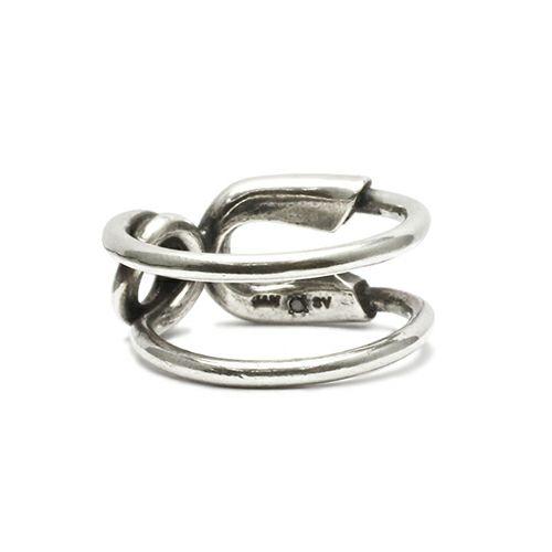セーフティピンリング M -SILVER- / 指輪