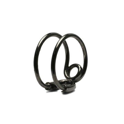セーフティピンリング S -BLACK- / 指輪
