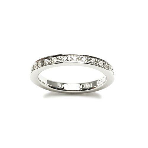 【ジャムホームメイド(JAMHOMEMADE)】フラット ダイヤモンド リング スター S - シルバー / 指輪