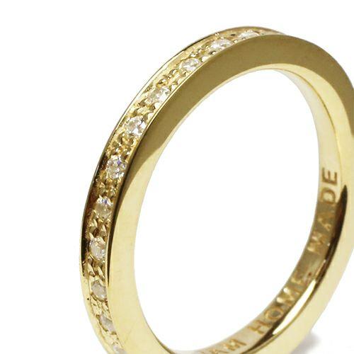 フラットダイヤモンドリングスター S -GOLD- / 指輪