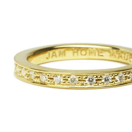 指輪 / フラットダイヤモンドリングスター S -GOLD- レディース シルバーゴールド ダイヤモンド 平打ち ペア 人気 おすすめ ブランド ギフト プレゼント クリスマス 記念日 誕生日