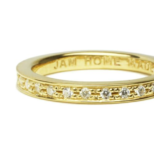 フラットダイヤモンドリングスター S -GOLD- / 指輪・リング