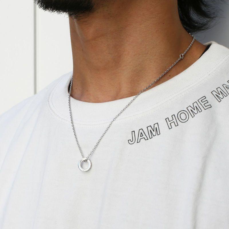 【JAM HOME MADE(ジャムホームメイド)】平打ちダイヤモンドネックレススター -SILVER- メンズ レディース ペア シルバー 925 人気 ブランド おすすめ ギフト プレゼント 誕生日 シンプル
