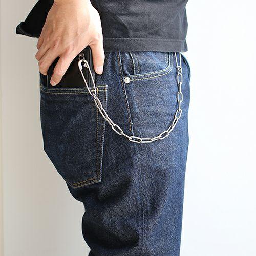 財布キーチェーン / セーフティピンウォレットチェーン -SILVER- メンズ ブランド 人気 財布 チェーン シンプル パンク ロック ストリート シルバー