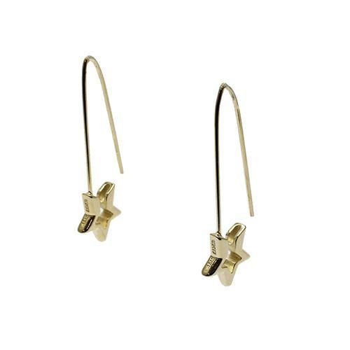【JAM HOME MADE(ジャムホームメイド)】スター&セーフティピンフープピアス メンズ レディース シルバー 925 ゴールド 安全ピン 片耳 シンプル 人気 おすすめ ブランド プレゼント 誕生日 ギフト