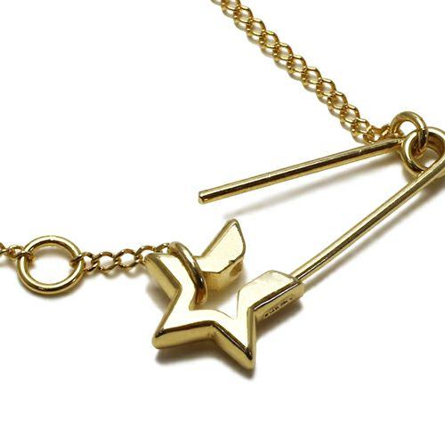 ネックレス / スター&セーフティピンネックレス レディース シルバー ゴールド チェーン シンプル 人気 ブランド おすすめ プレゼント ギフト