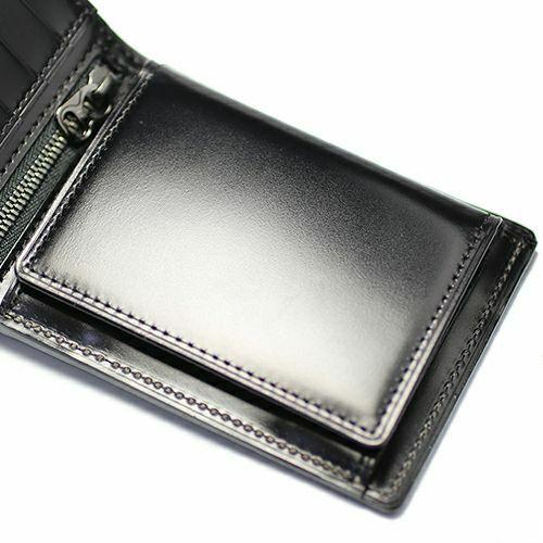 6月 誕生石コードバンミディアムウォレット / 二つ折り財布