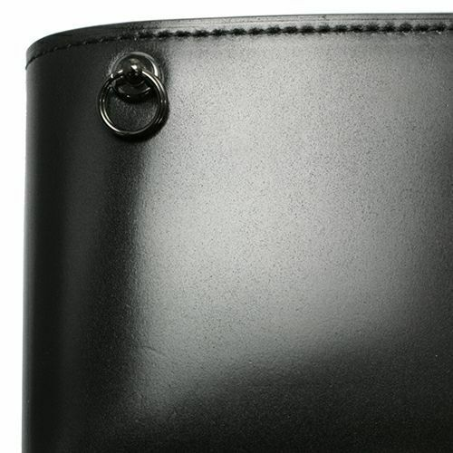 【ジャムホームメイド(JAMHOMEMADE)】4月 誕生石 コードバン 二つ折り財布 / ミディアムウォレット