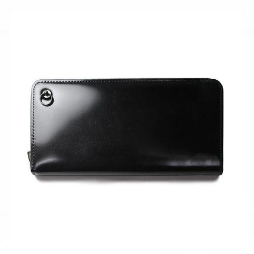 3月 誕生石コードバンファスナーロングウォレット / 長財布