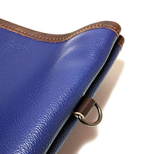 旅行用カバン / ブラックライドトートバッグ S -NAVY- メンズ ユニセックス 人気 おすすめ ブランド シンプル PVC 防水 革