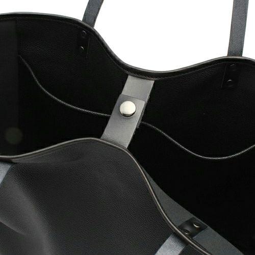 【ジャムホームメイド(JAMHOMEMADE)】コンチョブラックライドトートバック - ブラック