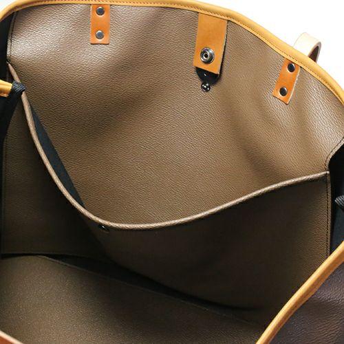 【JAM HOME MADE(ジャムホームメイド)】ブラックライドトートバック M -BROWN- メンズ ユニセックス 人気 おすすめ ブランド シンプル PVC 防水