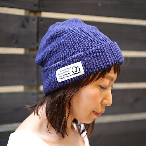 帽子 / CA4LA/カシラ JAM SHOP ニットキャップ -NAVY- メンズ レディース ユニセックス 人気 おすすめ ブランド 帽子 コラボ オールシーズン対応