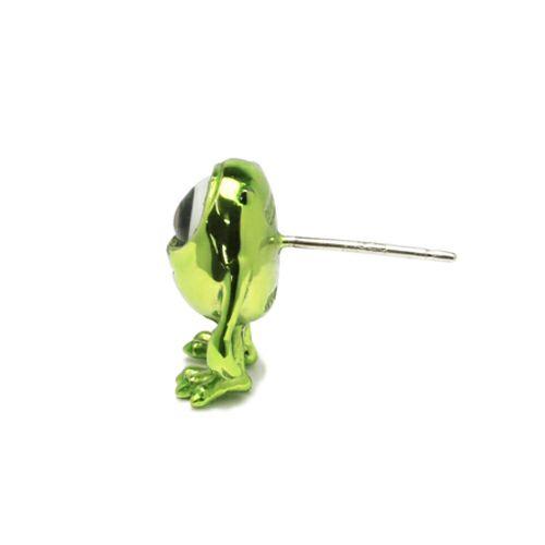 ピアス / モンスターズ・ユニバーシティ マイク / ピアス -GREEN- メンズ レディース シルバー 925 フルカラー 片耳 シンプル 人気 おすすめ ブランド プレゼント 誕生日 ギフト コラボ ディズニー モンスターユニバーシティ