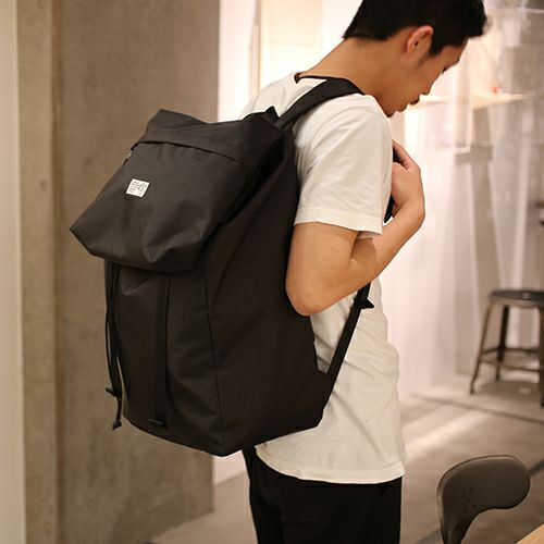 【JAM HOME MADE(ジャムホームメイド)】nonmetal バックパック -BLACK- / リュック メンズ レディース ユニセックス ブラック 旅行用 デイバック 人気 おすすめ ブランド