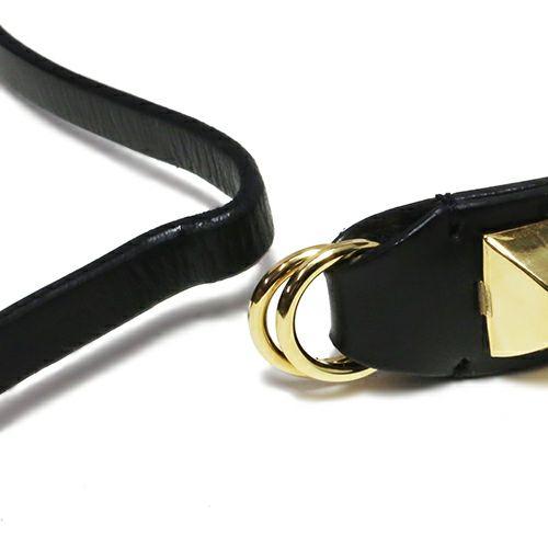 サードアイ スタッズレザー 2巻ブレスレット -GOLD-