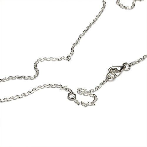【ジャムホームメイド(JAMHOMEMADE)】5月 誕生石 スケルトン カレッジリング ネックレス S