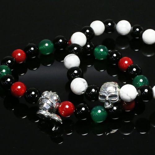 仮面ライダー ショッカースカル数珠ブレスレット