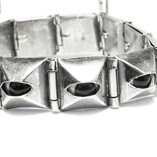 ブレスレット / サードアイスタッズ ジャムブレスレット -SILVER925- メンズ シルバー 925 パンク ボリューム