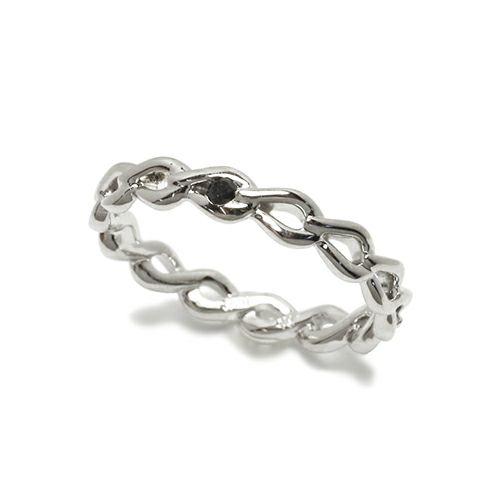 指輪 / ティアーズエタニティリング M -SILVER- メンズ シルバー ダイヤモンド ペア 人気 おすすめ ブランド ギフト プレゼント クリスマス モチーフ 涙の形