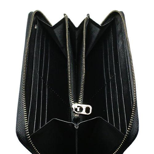 長財布 / ブライドルレザーファスナーロングウォレット メンズ ユニセックス ブランド 人気 おすすめ 使い始め レザー/革 イギリス ブライドル ブラック お手入れ シンプル プレゼント ギフト 誕生日 機能性 ウォレットチェーン