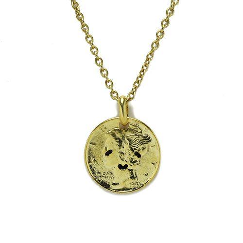 ネックレス / とんぼせんせい スマイルコインネックレス M -GOLD-