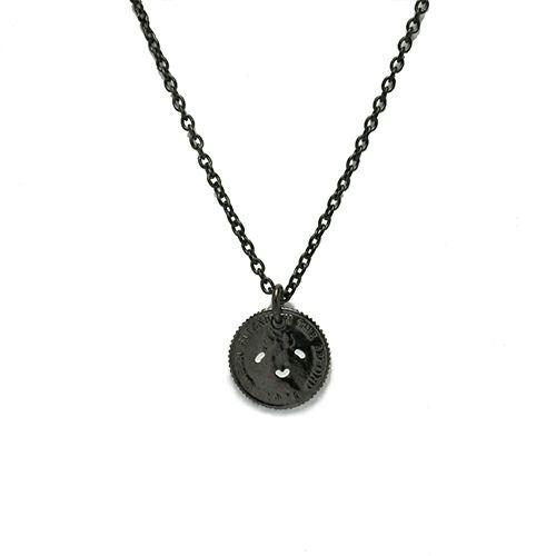 ネックレス / とんぼせんせい スマイルコインネックレス S -BLACK-